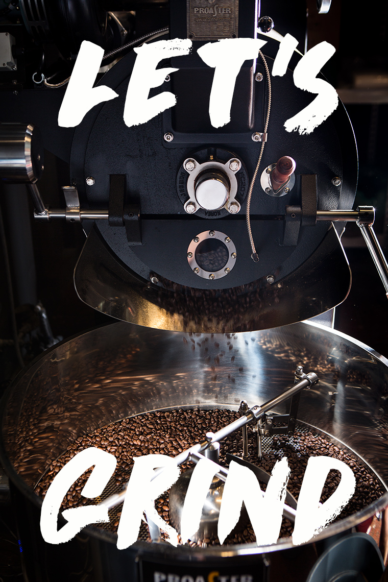 Product Photography Image for Coffee House Coffee Grinding Machine