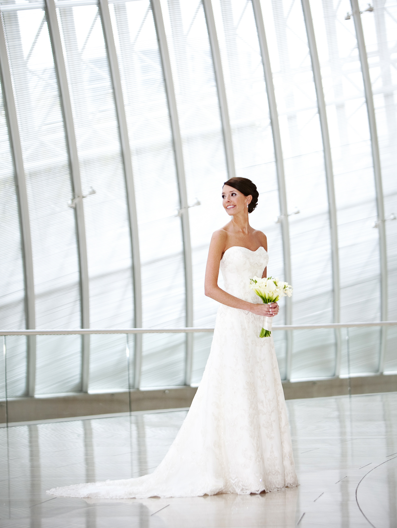 Bridal Shoot at the Morton H. Meyerson Symphony Dallas Texas