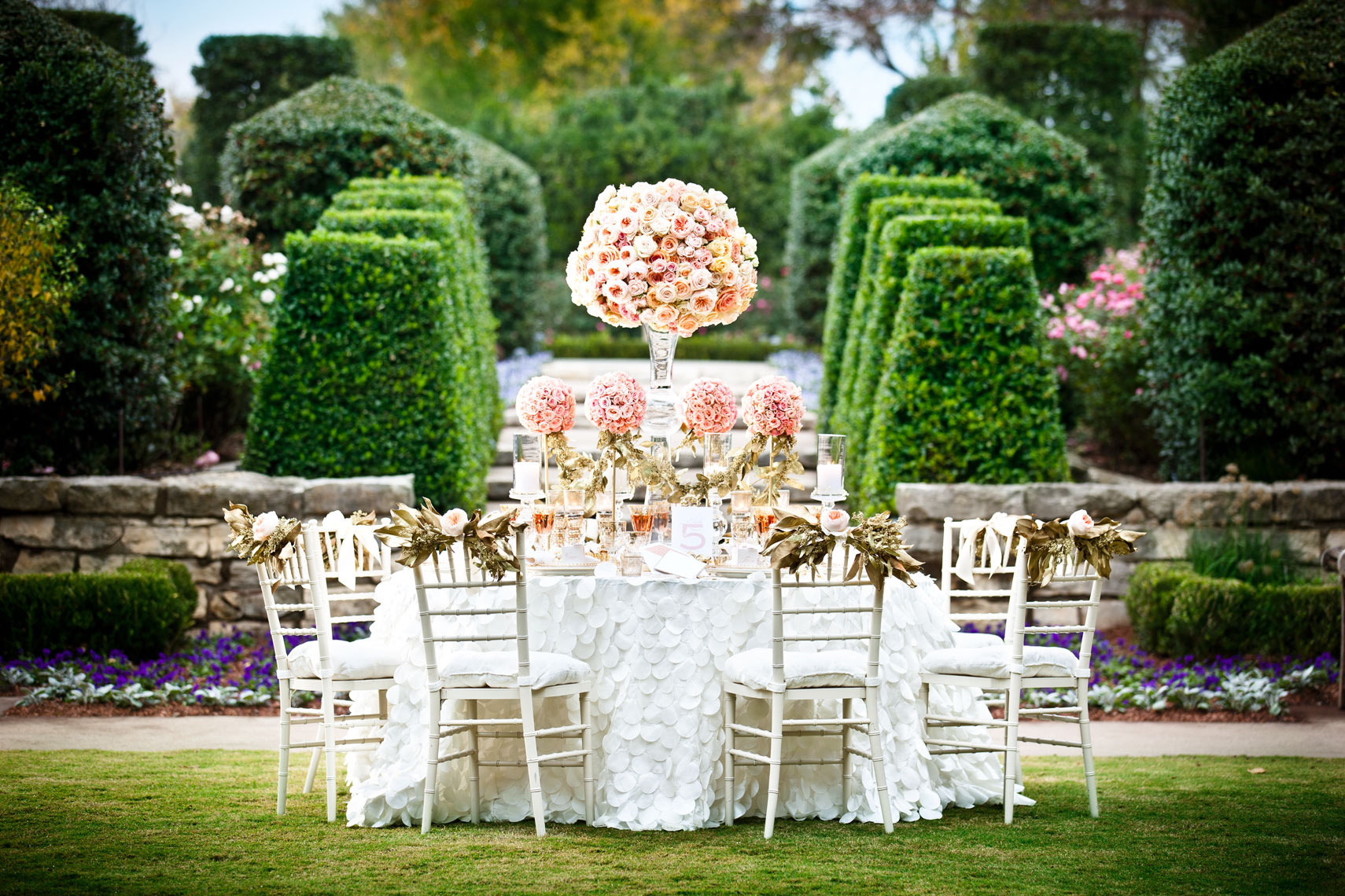 Editorial Table Scape outdoor table setting Photography  Dallas Texas for D Magazine