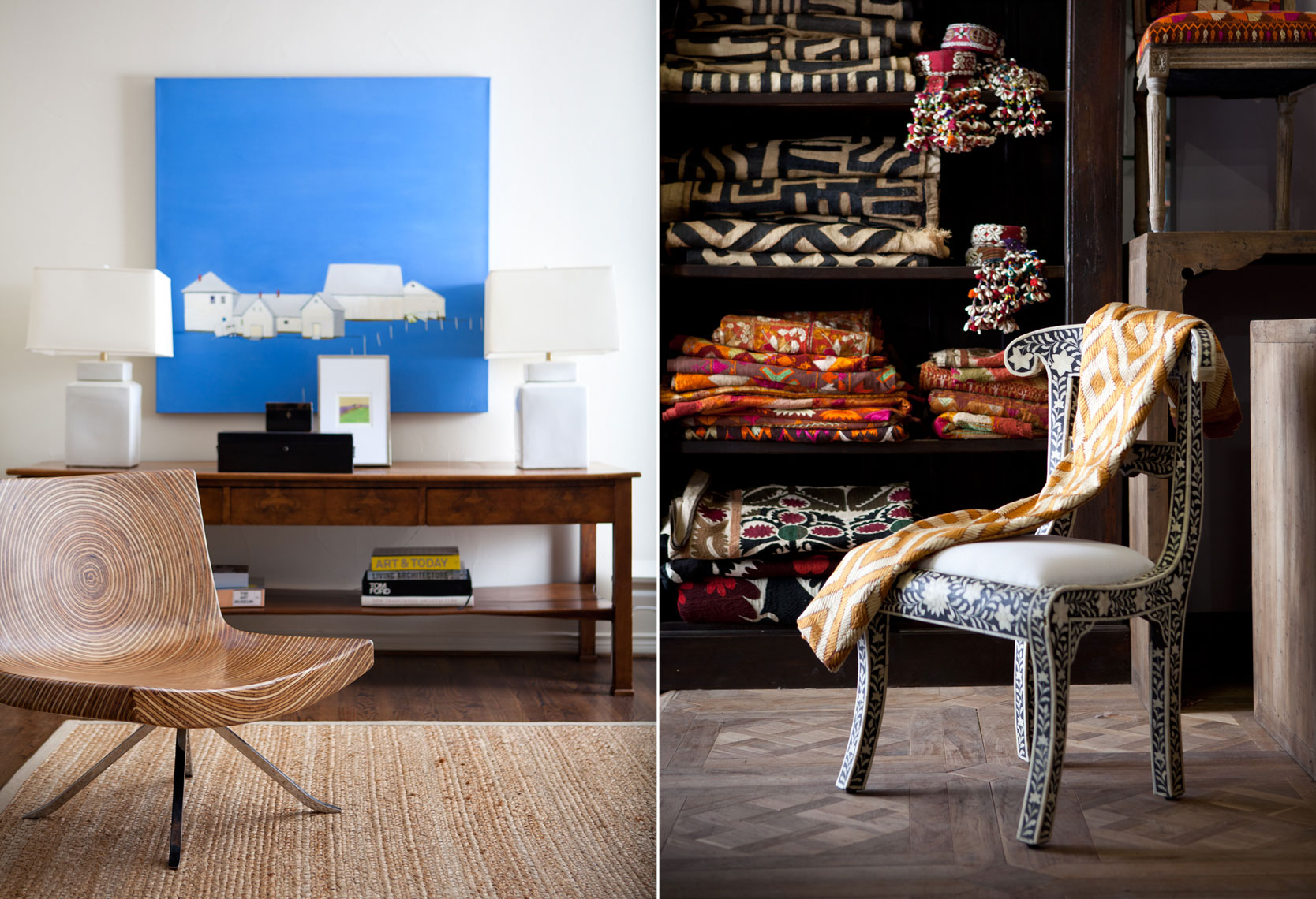 Editorial Interior Furniture Product Photography  Dallas Texas for D Magazine