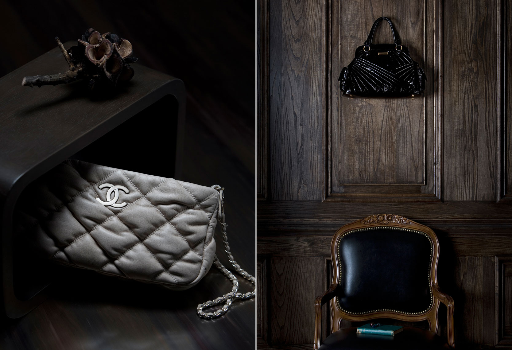 E Commerce Product Photography  Dallas Texas Chanel Clutch Hand Bag