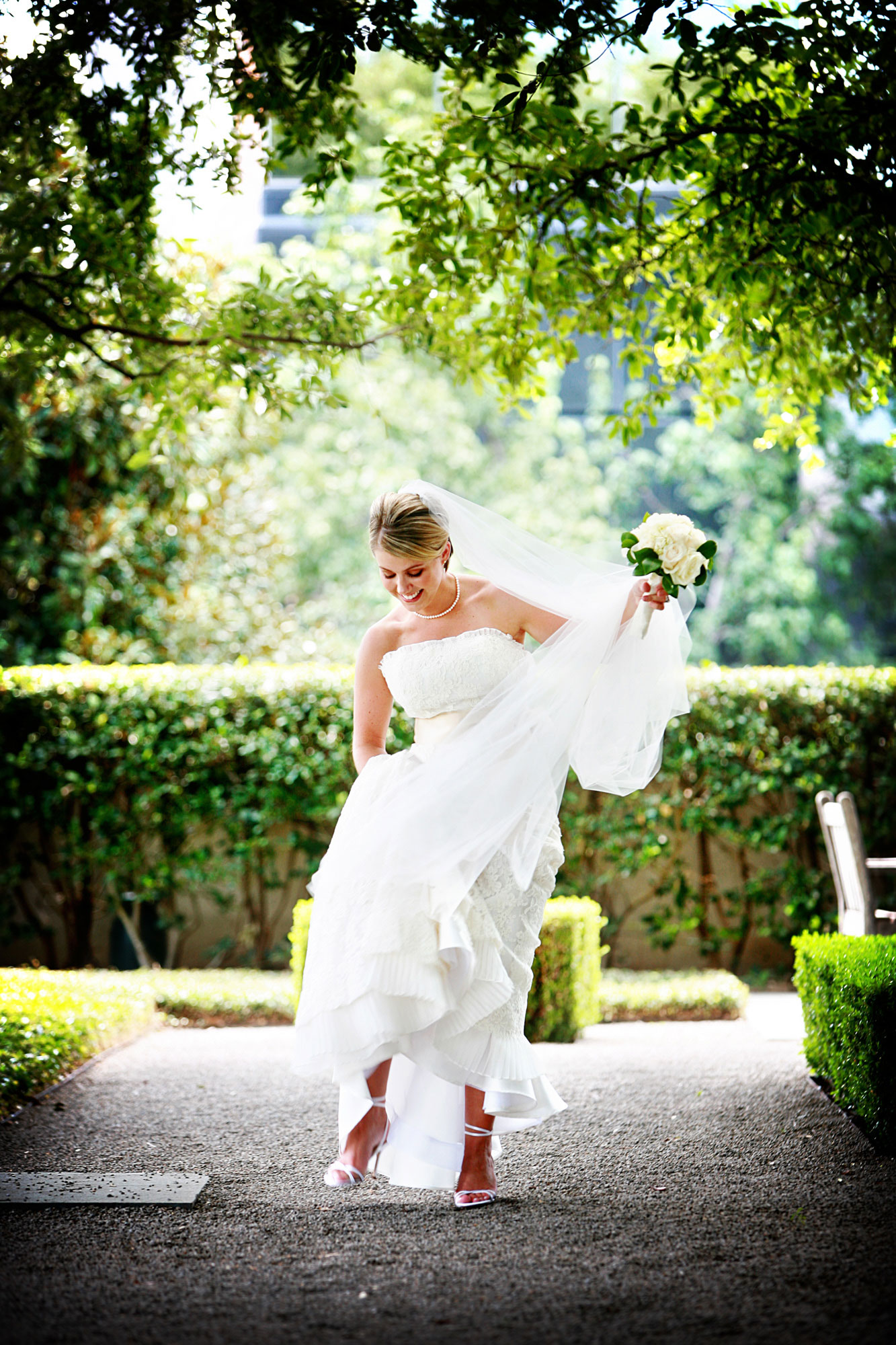 The Bride Walking Dallas Texas