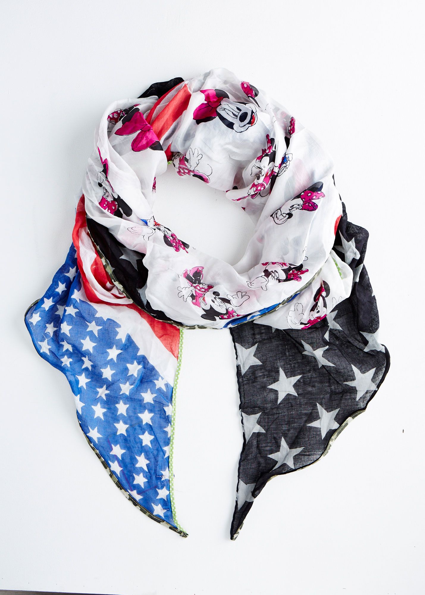 E Commerce Product Photography of Scarf White Background Dallas Texas